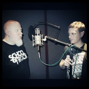 Adam Greenwald with Brother Ali